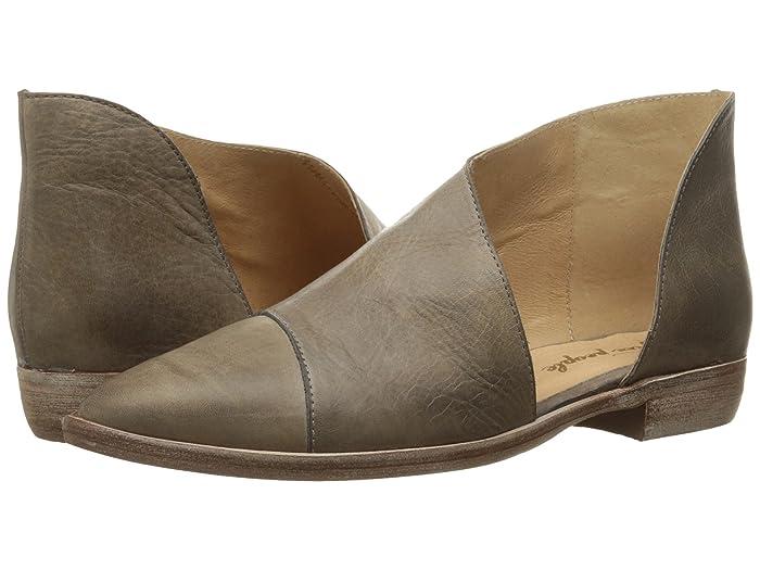 Free People  Royale Flat (Grey) Womens Flat Shoes