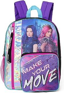 Disney Girls Descendants 3 Wickedly Fierce 16'' Backpack, Metallic/Purple (Purple) - K17TQDDSY00IR00