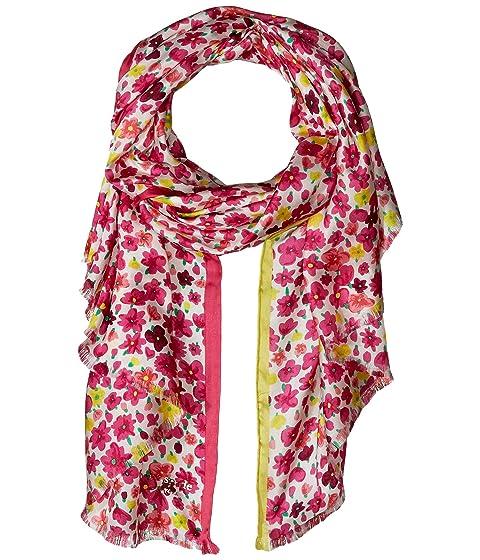 Kate Spade New York Marker Floral Silk Oblong Scarf
