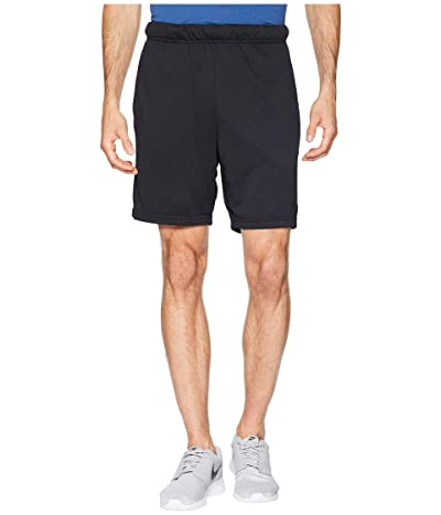 Nike Dry Fleece Hybrid Shorts (Black/White) Men