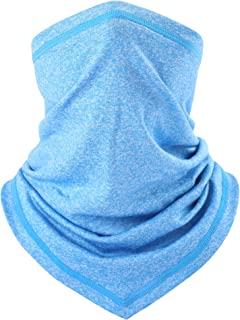 AXBXCX Breathable Seamless Neck Gaiter Face Mask Protection for Outdoor Sport
