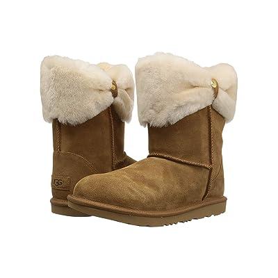 UGG Kids Ramona Classic Short II (Little Kid/Big Kid) (Chestnut) Girls Shoes