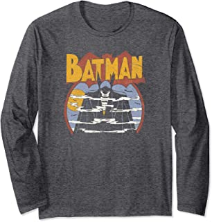 Batman Foggy Longsleeve T Shirt Long Sleeve T-Shirt