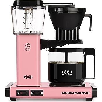 Technivorm 59607 KBG Coffee Brewer, 40 oz, Pink