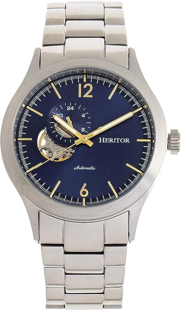 Heritor,orologio automatico da uomo,in acciaio inossidabile 316l HERHR8500