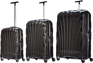 Samsonite Luggage Black Label Cosmolite 3 Piece Spinner Luggage Set (One size, Black)