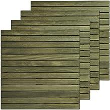 Amazon.es: madera suelo jardin