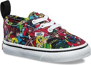 Vans Authentic Elastic (Marvel) Multi/True White VN0A38E8U41 Toddler Shoes