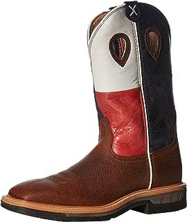 Durango Mens Mens 11 Inch Flag Pull-On DB4446 Western Boot