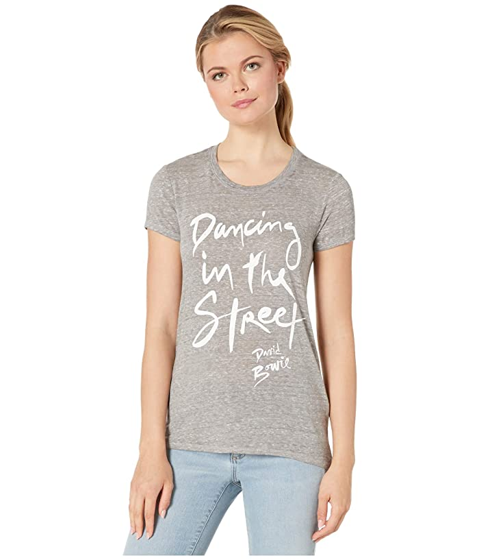 Lucky Brand  Dancing in The Street Tee (Heather Grey) Womens Clothing
