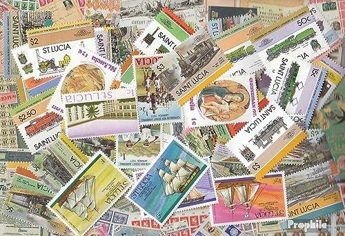caliente Prophila Collection St. St. St. lucía 1.000 Diferentes Sellos (Sellos para los coleccionistas)  buen precio