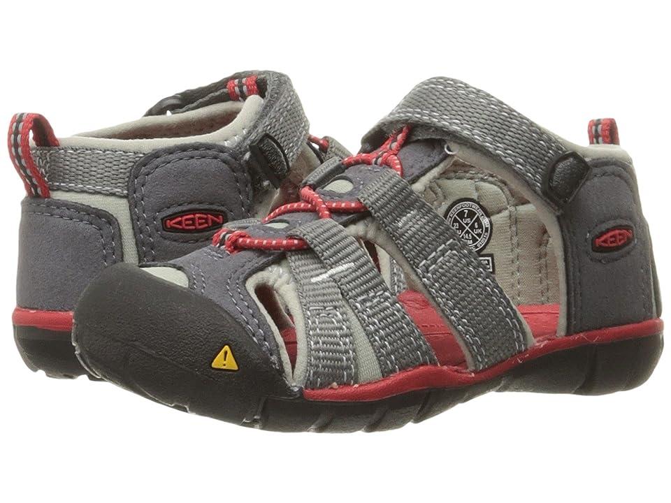 bb143ec1ed2f Keen Kids Seacamp II CNX (Toddler) (Magnet Racing Red) Boys Shoes