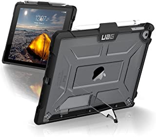 UAG iPad 9.7 (2017 5th Gen & 2018 6th Gen)/iPad Pro 9.7-inch/iPad Air/iPad Air 2 Plasma Feather-Light Rugged [Ice] Military Drop Tested iPad Case