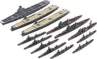フジミ模型 1/3000 集める軍艦シリーズ No.11 あ号作戦 小沢艦隊甲部隊セット(大鳳/翔鶴/瑞鶴)彩色済み艦載機付き プラモデル 軍艦11