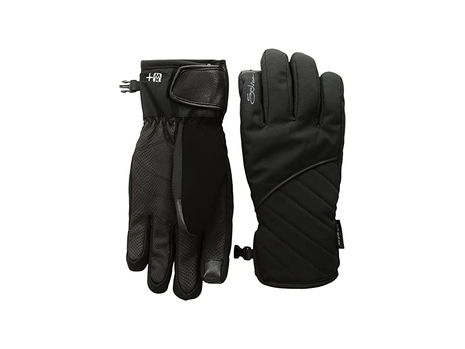 Seirus St Heatwave Plus Vanish Gloves (Black) Extreme Cold Weather Gloves