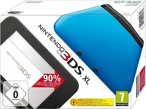 Console Nintendo 3DS XL - bleu & noir