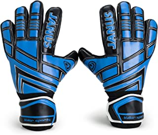 Valorsports Youth Adult Goalie Goalkeeper Gloves,Strong Grip for The Toughest Saves, with Finger Spines to Give Splendid Protection to Prevent Injuries, JA390