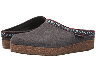 Haflinger GZ Classic Grizzly (Grey) Clog Shoes