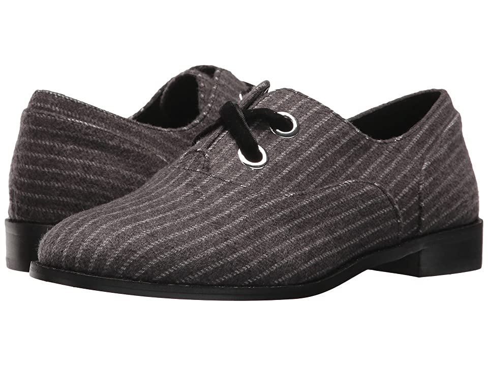 Shellys London Frankie Oxford (Grey Pinstripe) Women