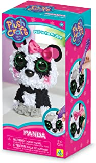 The Orb Factory Panda 3D Arts and Crafts (510 Piece), Black/White/Grey/Pink, 5