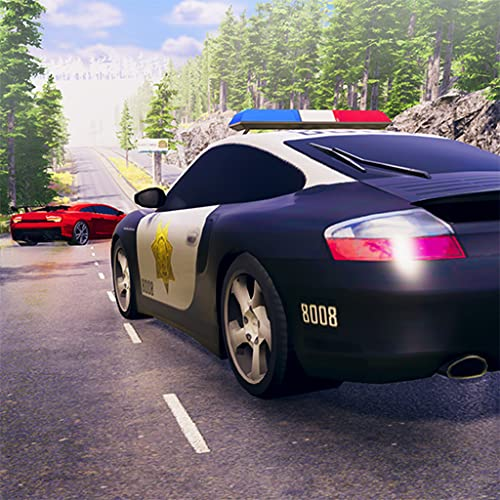 Cops Vs Robbers Crime Scene Call Duty Criminal Escape Mission 3D: Coche de policía Chase Driving Simulator Drifting Games Gratis para niños