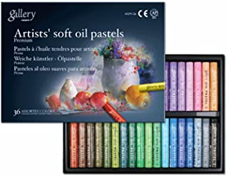 Mungyo Gallery Soft Oil Pastels Set of 36 - Assorted Colors (MOPV-36)