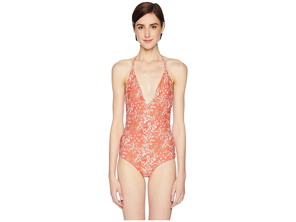 onia Nina One-Piece (Sunrise/White) Women