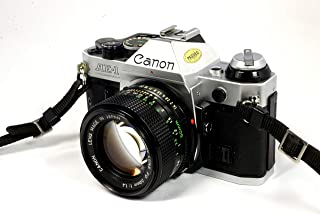 Canon AE-1 Program Camera With Canon 50mm 1:1:4 Manual Focus Lens