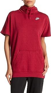 Nike W NSW Hoodie SS FLC #803985-063
