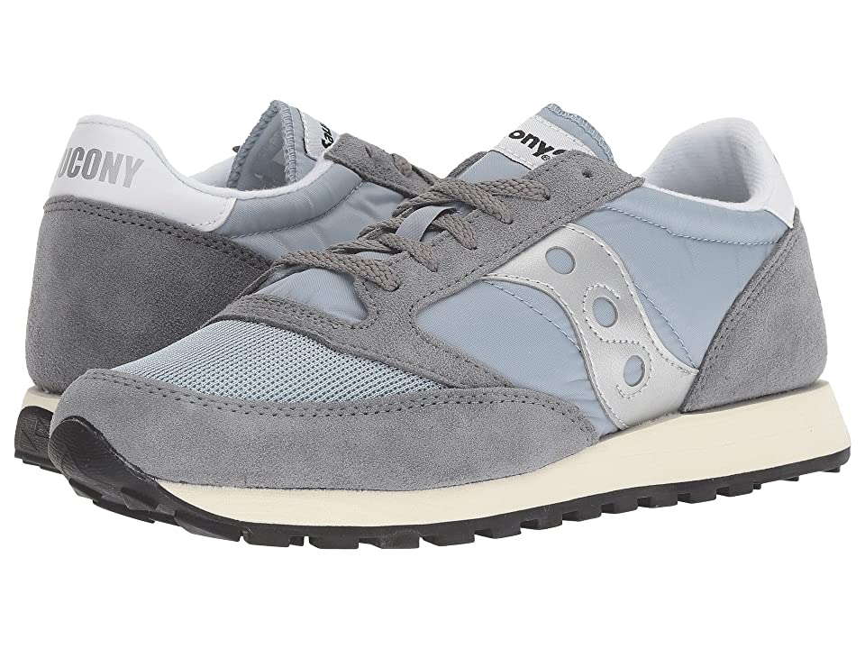 Saucony Originals Jazz Original Vintage (Grey/Blue/White) Men