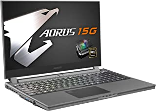 GIGABYTE AORUS 15 SHARP IGZO 240HZパネル採用ゲーミングノート/Microsoft Azure AI/15.6インチ/英語配列 (240HZ | RTX 2070 SUPER| i7-10875H)