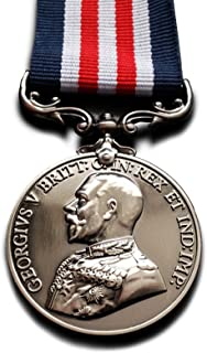 Goldbrothers13 Military Medal (MM) Bravery in The Field ww1 British Royal George v