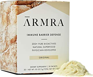 ARMRA Natural Immune Superfood Powered by Bovine Colostrum | Immune Support for Adults & Children | Promotes Gut, Brain, a...
