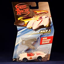 Hot Wheels Speed Racer Mach 5 With Saw Blades Vehicle