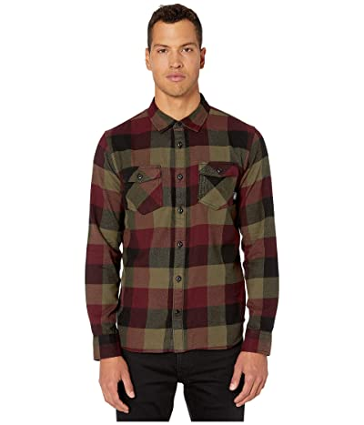 Vans Box Flannel Shirt (Port Royale/Grape Leaf) Men