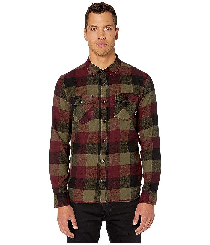 UPC 679894066906 product image for Vans Box Flannel Shirt (Port Royale/Grape Leaf) Men's Clothing | upcitemdb.com