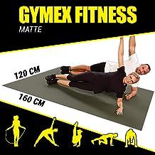 GYMEX Fullsize XXL fitnessmat, extra groot, rolbaar, voor yoga, sport en fitness, 5 maten, 4 kleuren