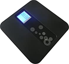 VENUS ABS-3799 Electronic Digital Personal Bathroom Health Body Weight Weighing Scale (Black)
