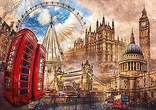 Vintage London, Fantasy Jigsaw Puzzle, Collection, 1500 Pieces