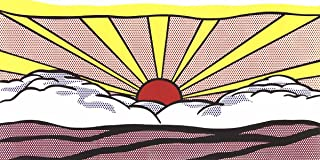 2012 Roy Lichtenstein Sunrise Poster