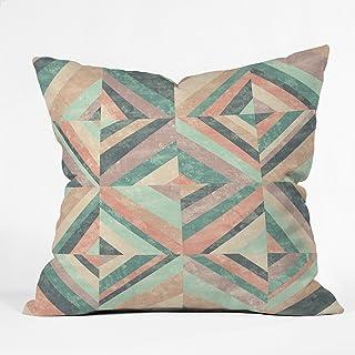 "Deny Designs Jacqueline Maldonado Hybrid Holistic Indoor Throw Pillow, 16"" x 16"""