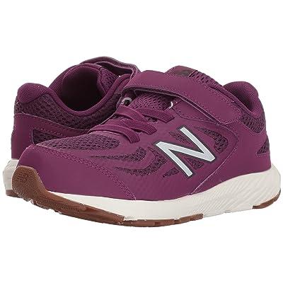 New Balance Kids KV519v1Y (Little Kid/Big Kid) (Imperial/Phantom) Girls Shoes