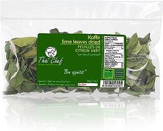 Thaï Chef : Dried Kaffir Lime Leaves, 30g   Curry Leaves, Premium Gourmet Ingredient for Thai & Asian Cuisine , De la Nature 100%
