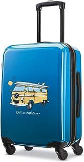 حقيبة سفر لايف إز جود بجوانب صلبة مع عجلات دوارة من أميريكان توريستر