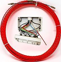 Sonda passacavi Spiralata 100% Poliestere ad anima unica, 15 metri Ø 3 mm, ottima molla elettricista per impianti saturi e...