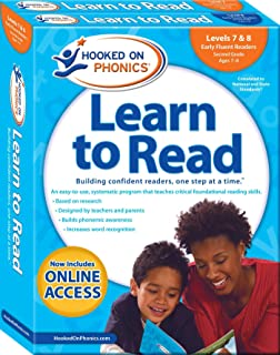 Hooked on Phonics Learn to Read - Levels 7&8 Complete: Early Fluent Readers (Second Grade | Ages 7-8) (4) (Learn to Read Complete Sets)