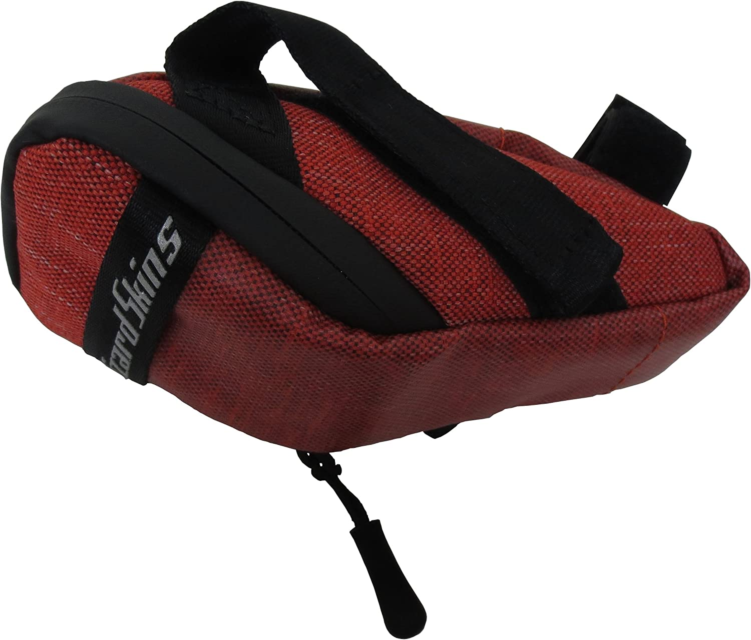 Lizard Skins Micro Cache Seat Bag Crimson Bicycle Under Saddle Storage Pouch
