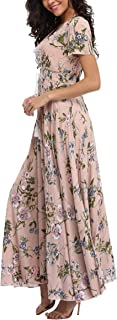 Best blush pink floral maxi dress Reviews