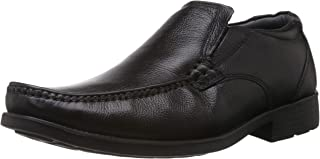 Hush Puppies Men's Mocca Zero G Leather Formal Shoes