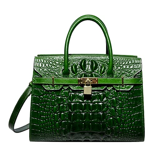 PIJUSHI Women Purses And Handbags Crocodile Top Handle Satchel Bags  Designer Handbags c015e09109989